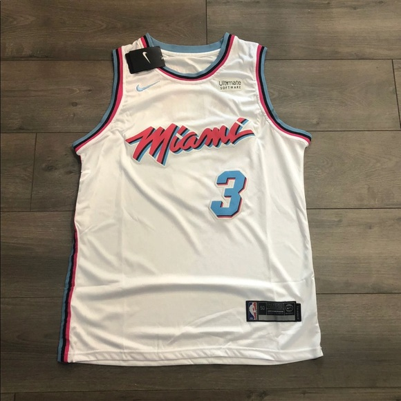 sneakers for cheap af22a 73906 Dwayne Wade Miami Vice / Miami Heat Jersey 🔥🔥💯 NWT